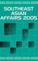 Cover image for Southeast Asian affairs 2005