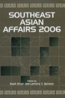Cover image for Southeast Asian affairs 2006
