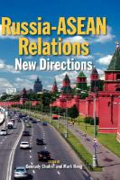 Cover image for Russia-ASEAN relations : new directions
