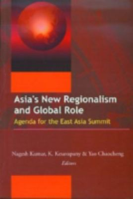 Cover image for Asia's new regionalism and global role