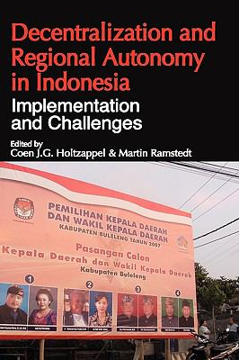 Cover image for Decentralization and regional autonomy in Indonesia : implementation and challenges