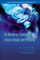 Cover image for An advanced treatise on fixture design and planning