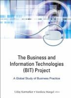 Cover image for The business and information technologies (BIT) project : a global study of business practice