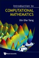 Cover image for Introduction to computational mathematics