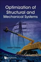 Cover image for Optimization of structural and mechanical systems