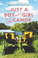Cover image for Just a boy and a girl in a little canoe