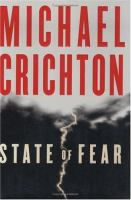 Cover image for State of fear : a novel