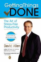 Cover image for Getting things done : the art of stress-free productivity