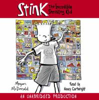 Cover image for Stink : the incredible shrinking kid. bk. 1  Stink Moody series