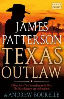 Cover image for Texas outlaw. bk. 2 [large print] : Rory Yates series