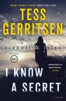 Cover image for I know a secret. bk. 12 [large print] : Rizzoli & Isles series
