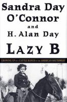 Cover image for Lazy B : growing up on a cattle ranch in the American Southwest