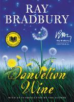 Cover image for Dandelion wine : a novel