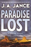 Cover image for Paradise lost, bk. 9 : Joanna Brady series