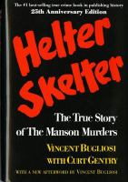 Cover image for Helter skelter: the true story of the Manson murders