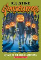 Cover image for Attack of the jack-o'-lanterns. bk. 48 : Goosebumps series
