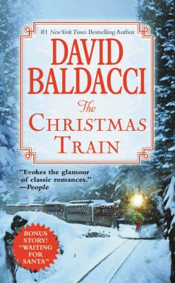 Cover image for The Christmas train [large print]