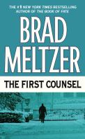 Cover image for The first counsel [large print]
