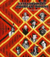 Cover image for Extraordinary American Indians
