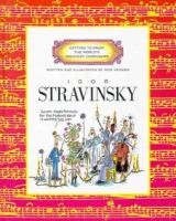 Cover image for Igor Stravinsky : Getting to know the world's greatest composers