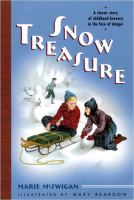 Cover image for Snow treasure