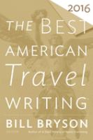Cover image for The best American travel writing 2016