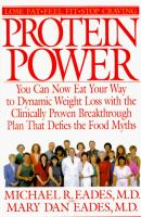 Cover image for Protein power : the metabolic breakthrough