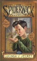 Cover image for Lucinda's secret. bk. 3 : The Spiderwick chronicles series