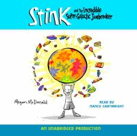 Cover image for Stink and the incredible super-galactic jawbreaker. bk. 2 Stink Moody series