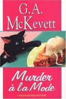 Cover image for Murder à la mode.  bk. 10 : Savannah Reid series