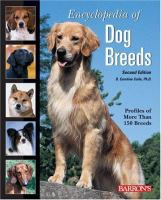 Cover image for Encyclopedia of dog breeds