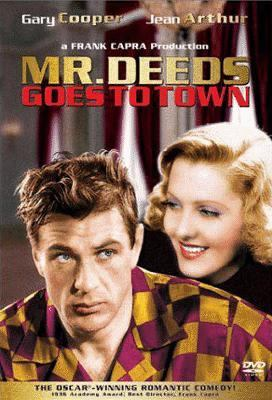 Cover image for Mr. Deeds goes to town
