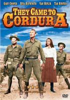 Cover image for They came to Cordura