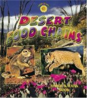 Cover image for Desert food chains