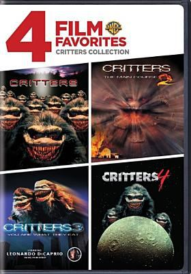 Cover image for Critters [videorecording DVD] ; Critters 2, the main course, Critters 3, you are what they eat, Critters 4