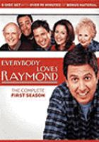 Cover image for Everybody loves Raymond. Season 1, Complete