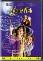 Cover image for A simple wish