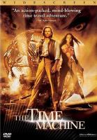 Cover image for The time machine (Guy Pearce version)