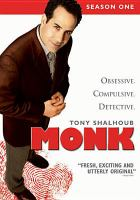 Cover image for Monk. Season 1, Disc 4 :