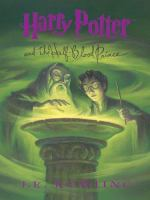 Cover image for Harry Potter and the Half-Blood Prince. bk. 6 [large print] : Harry Potter series