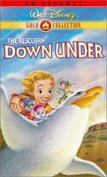Cover image for The Rescuers down under