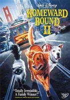 Imagen de portada para Homeward bound II lost in San Francisco