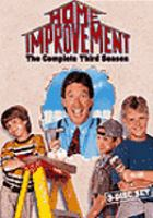 Cover image for Home improvement. Season 3, Complete