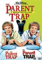 Cover image for The parent trap [videorecording DVD] (Hayley Mills version) : The parent trap II