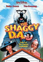 Cover image for The shaggy D.A. [videorecording DVD]