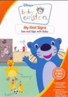 Cover image for Baby Einstein. My first signs