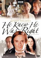 Cover image for He knew he was right