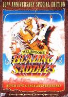Cover image for Blazing saddles