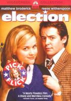 Cover image for Election [videorecording DVD]