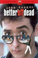 Imagen de portada para Better off dead
